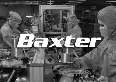 Baxter reduces heavy administrative burden